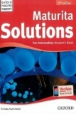 Maturita Solutions 2nd edition Pre-Intermediate Students Book